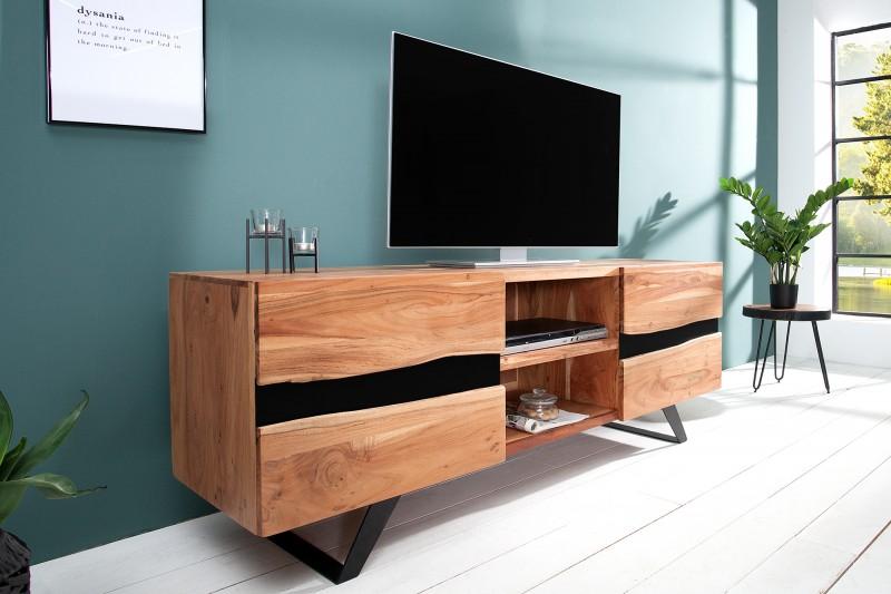 Televizní stolek Yucatán 160cm x 65cm - akácie / 38332