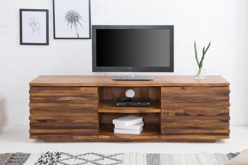 Televizní stolek Puerto Rico 150cm x 50cm - Sheesham / 38411