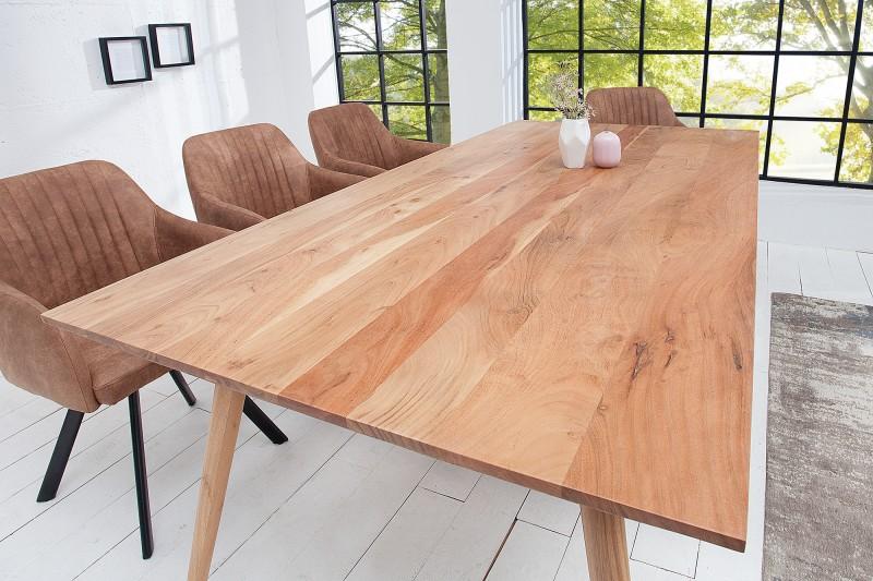 Jídelní stůl Mystic Living 160cm akát / 38418