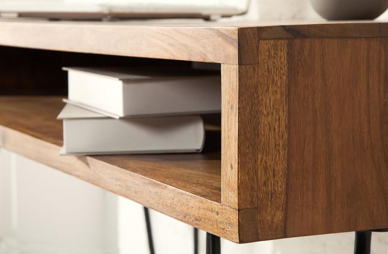 Pracovní stůl Scorpion 110cm Sheesham / 38459