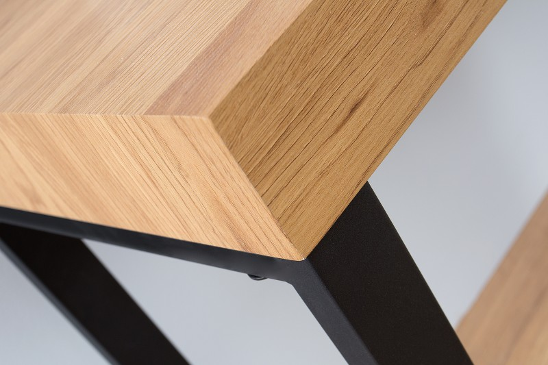 Pracovní stůl Oak Desk 120cm x 40cm - dub / 38429