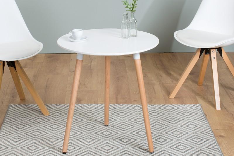 Jídelní stolek Scandinavia 60cm bílá / 38388