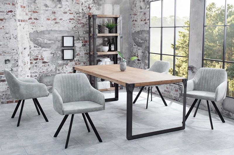 Židle Lucca stone šedá / 38310