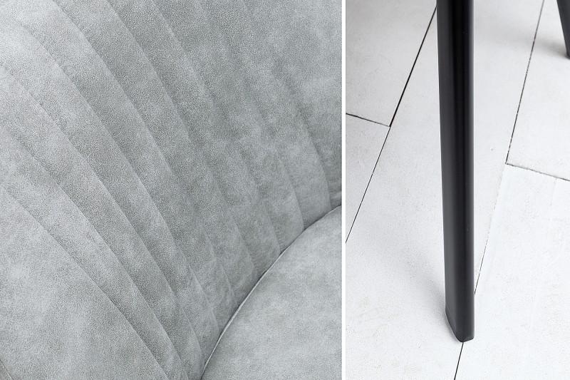 Jídelní židle Portland - vintage šedá / 38310