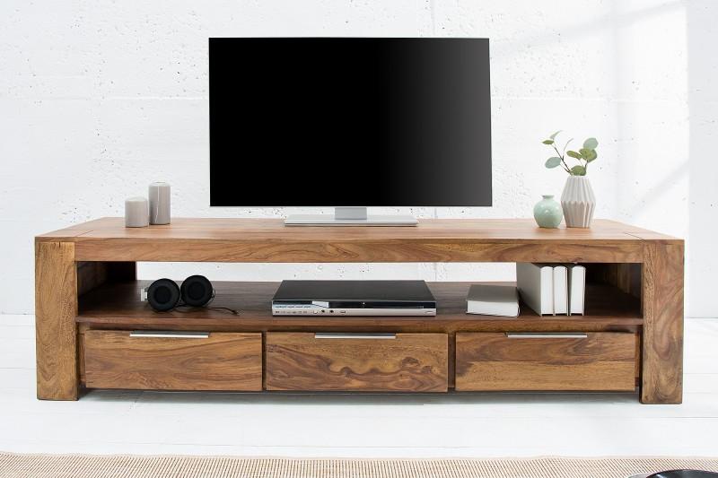 Televizní stolek Fortaleza 170cm x 45cm - Sheesham / 38111