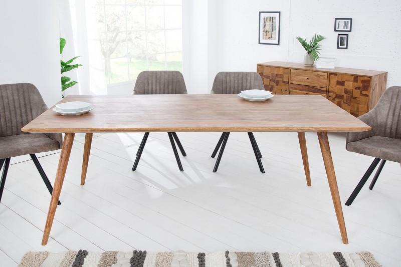 Jídelní stůl Visby 200cm x 100cm - Sheesham / 38413