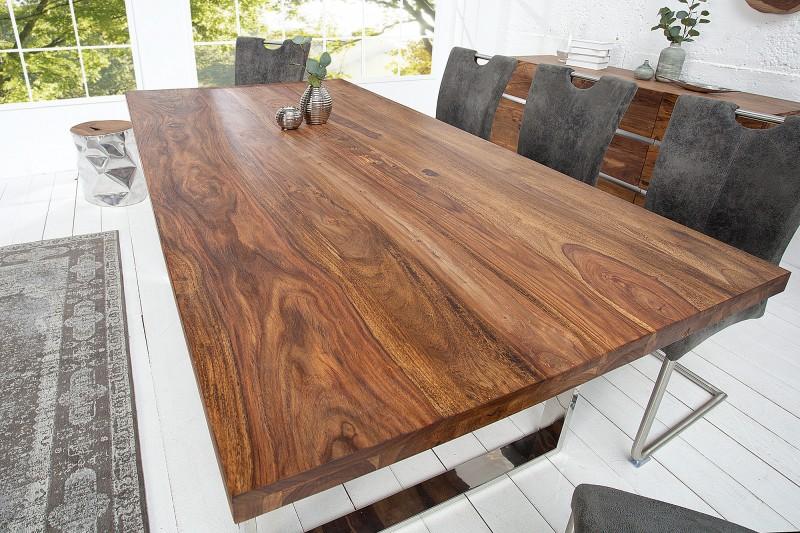 Jídelní stůl Caracas 160cm x 90cm - Sheesham / 37476