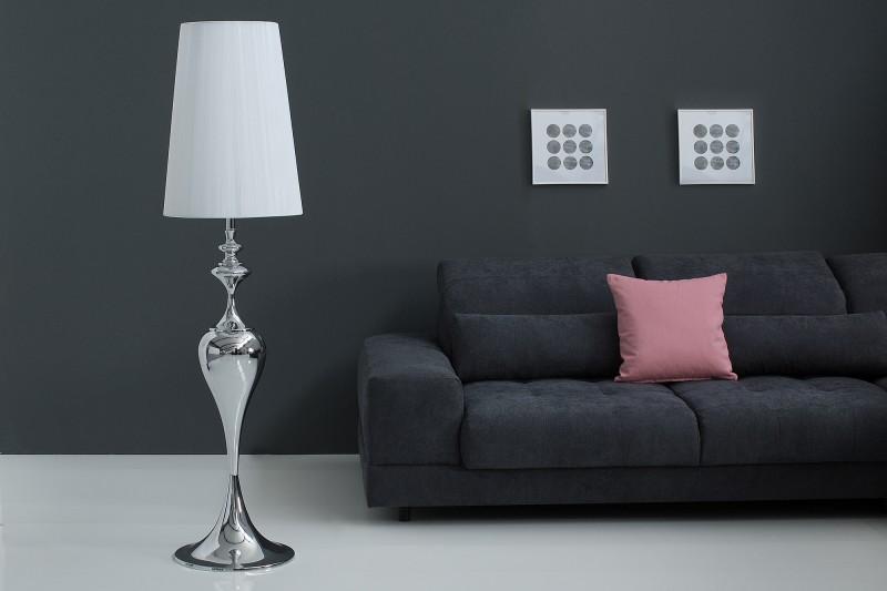 Stojací lampa Mia 160cm - bílá / 38572