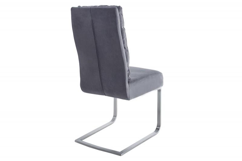 Konferenční židle Comfort Vintage šedá / 38394