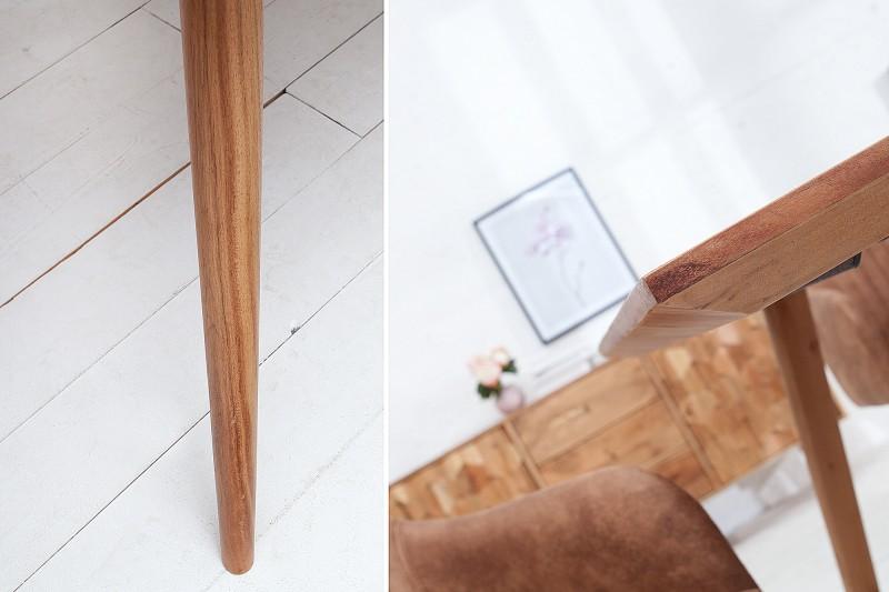 Jídelní stůl Ystad 160cm x 90cm - akát, přírodní  / 38418