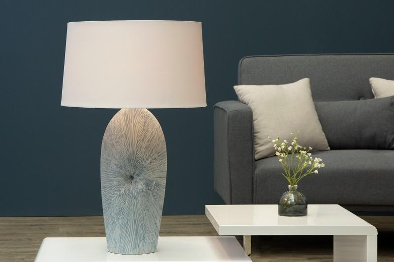 Stolní lampa Maritim 71cm - bílá / 37652