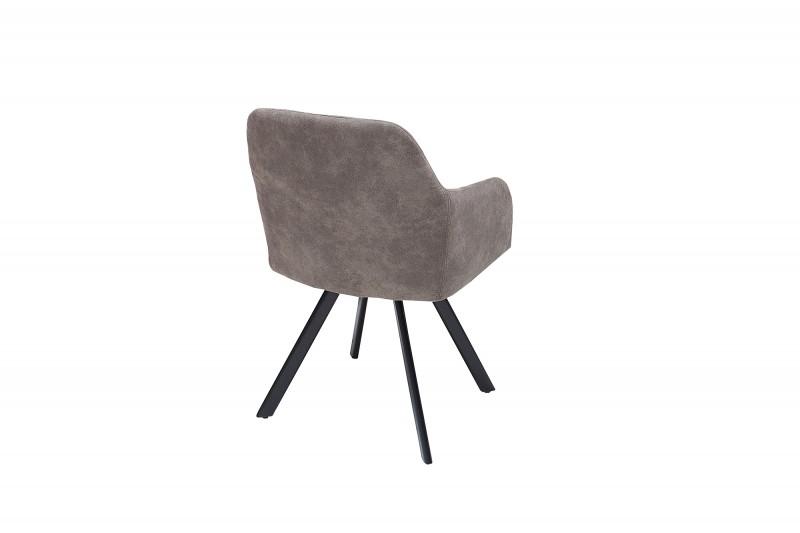 Jídelní židle Portland - taupe šedá / 38309