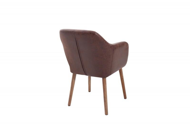 Nejvyšší vintage hnědá / 37871 židle