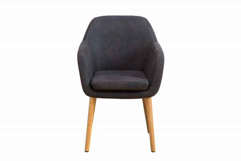 Nejvyšší vintage židle šedá / 38439