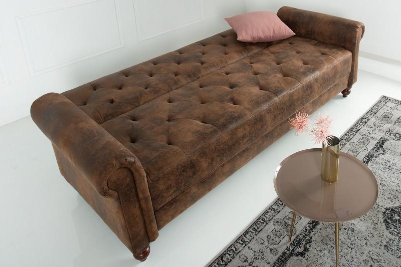 Schlafsofa Maison Belle 225cm Antik Braun 38535 6295