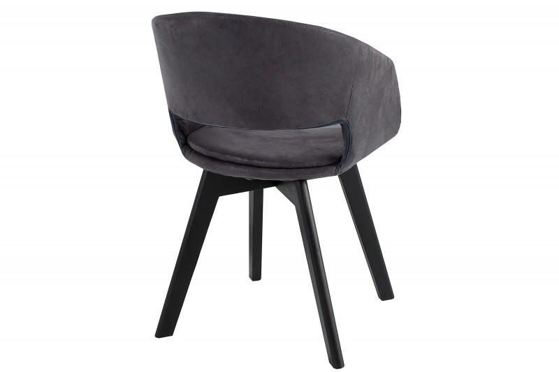 Jídelní židle Viborg - starožitná šedá / 38505