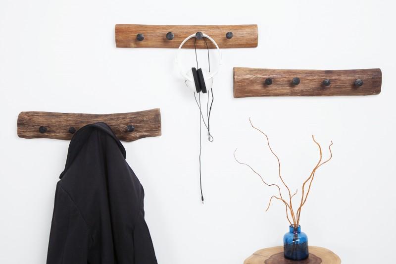 Nástěnný věšák Hemingway 50cm - recyklované dřevo / 38303