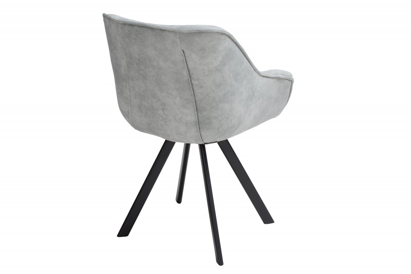 Židle Dutch Comfort starožitný světle šedá / 38438