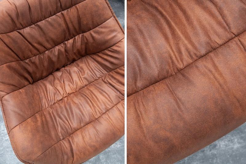 Jídelní židle Molly Comfort - starožitná hnědá / 37611