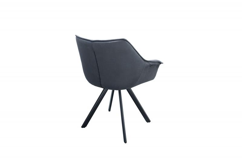 Jídelní židle Molly - starožitná šedá / 37612