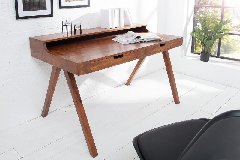 Pracovní stůl Flint 120cm x 70cm - přírodní   akát / 37837