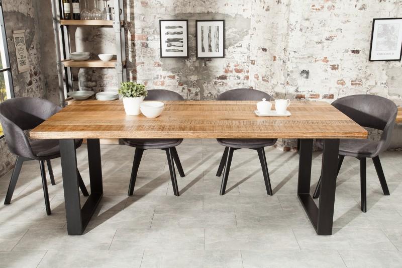Jídelní stůl Hobart 160cm x  90cm - přírodní mango / 38656