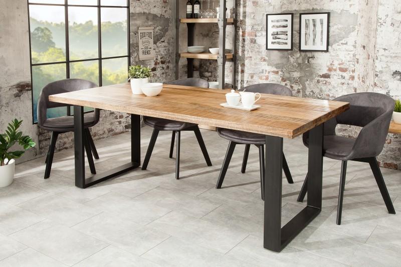 Jídelní stůl Hobart 180cm x 90cm - přírodní mango / 38658