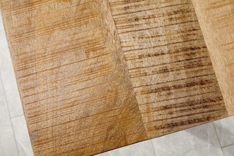 Jídelní stůl Hobart 200cm x 90cm - přírodní mango / 38660