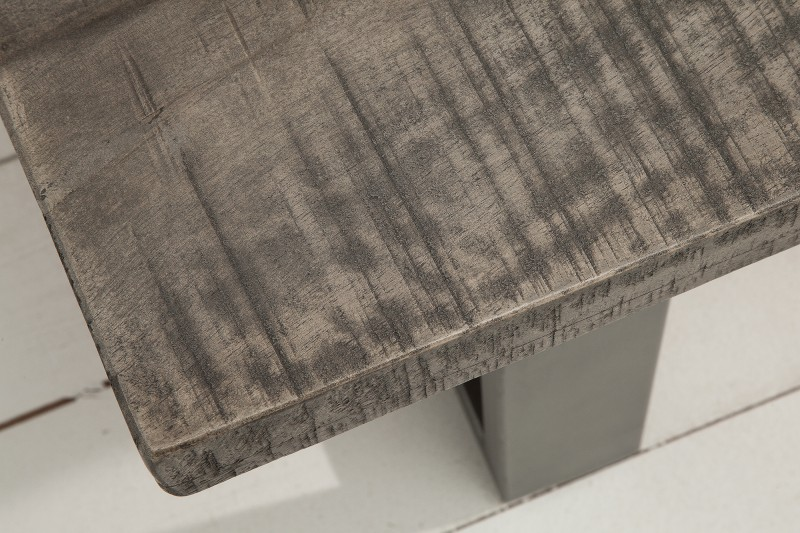 Lavice Hobart Grey 170cm x 40cm - šedé mango / 38665