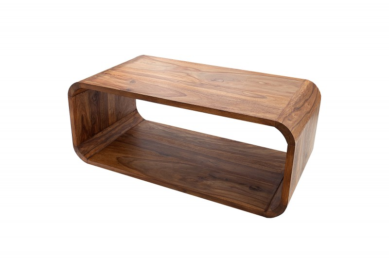 Konferenční stolek Curved 100cm x 50cm - Sheesham / 38032