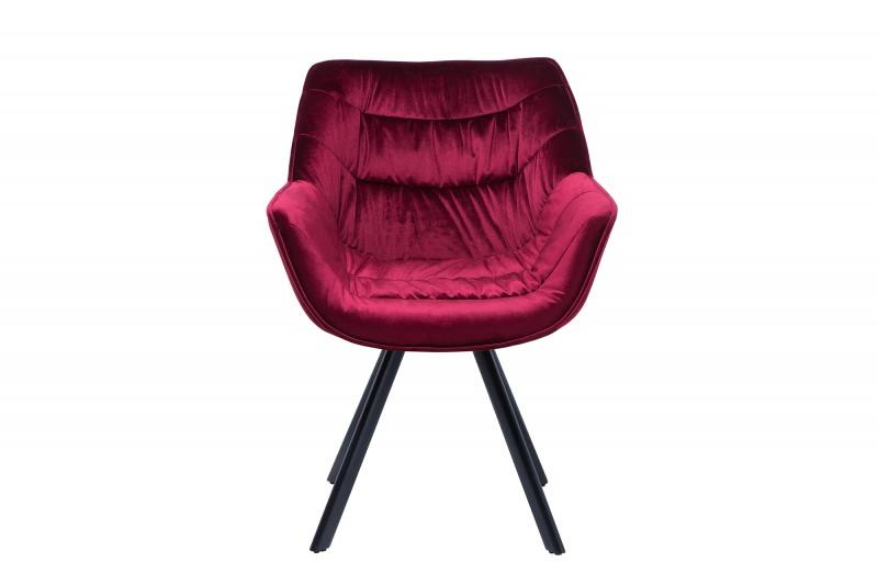 Židle Molly Comfort - bordeaux červená / 38598