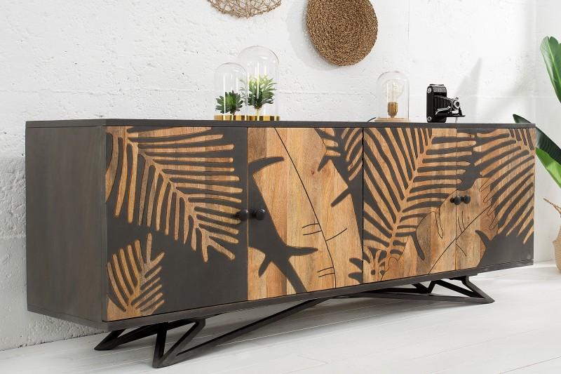 Příborník Brazzaville 175cm x 75cm - mango / 38728