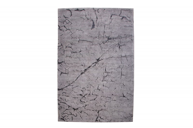 Koberec Aspen 240cm x 160cm - šedý, bavlna / 38756