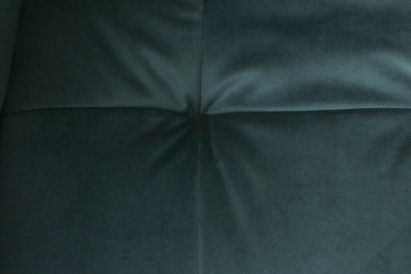 Jídelní židle Owen - smaragdová, samet / 38862