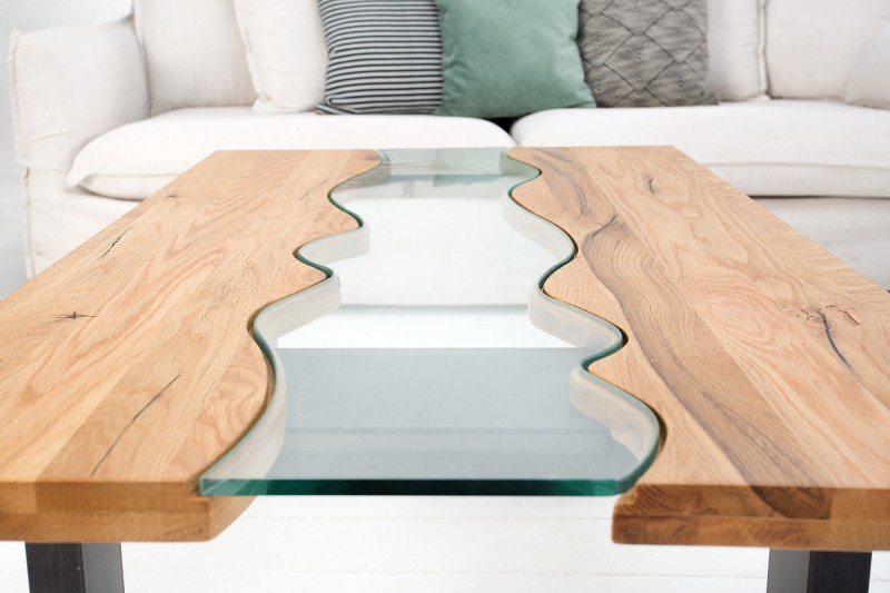 Konferenční stolek Penedo 115cm x 70cm - divoký dub / 38279