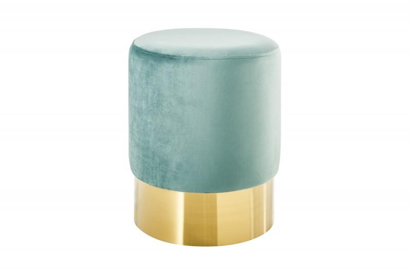 Moderní barokní stolička 35cm mincovna zlato / 38906