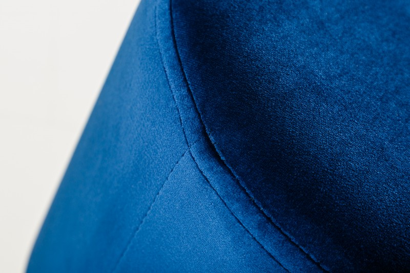 Taburet Modern Baroque 55 cm -modrá, zlatá / 38579