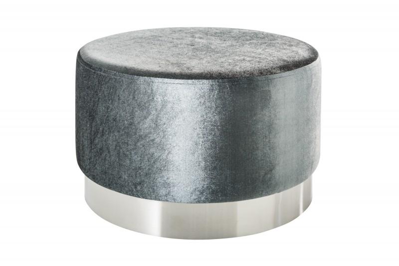 Stolička Moderní baroko 55cm stříbrná stříbrná / 38580
