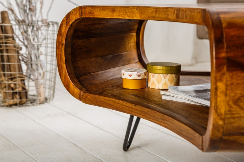 Konferenční stolek Organic Living Sheesham Retro / 38901