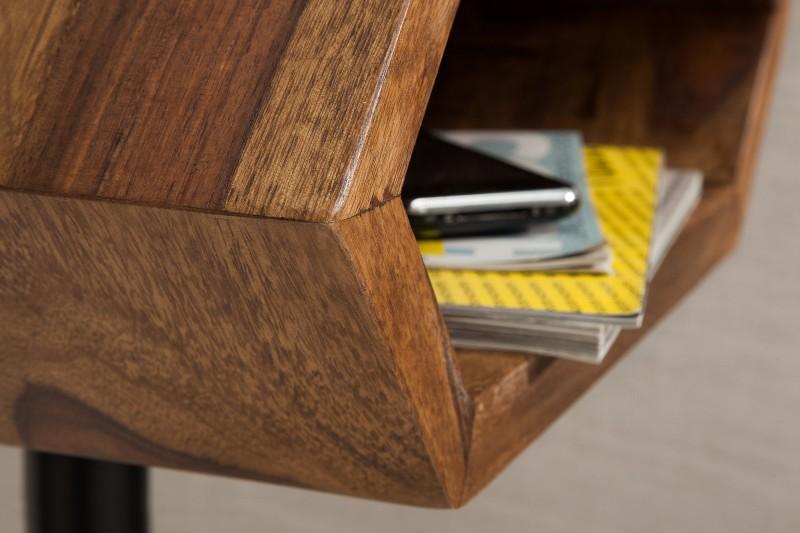 Přídavný stolek Hexagon Sheesham / 38916