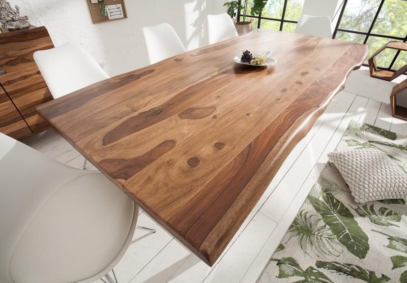 Jídelní stůl Alicante 180cm x 90cm - Sheesham - 40mm / 38911