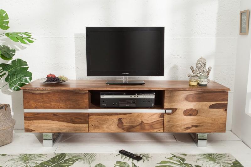 Televizní stolek Guerrero 160cm x 50cm - Sheesham / 38914
