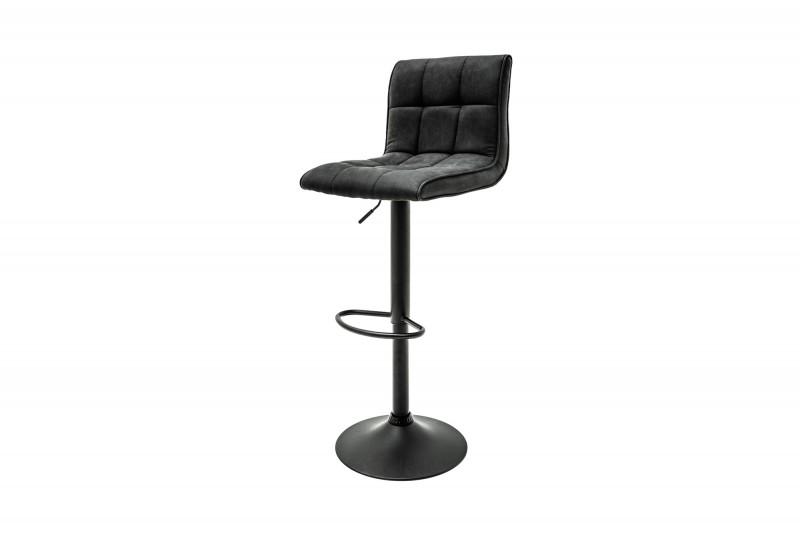 Barová židle Modena vintage šedá / 39001