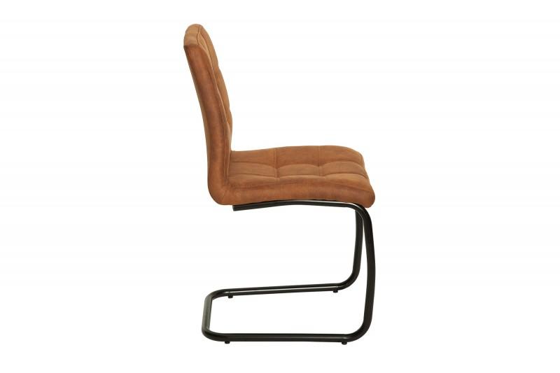 Konferenční židle Modena vintage světle hnědá / 38615