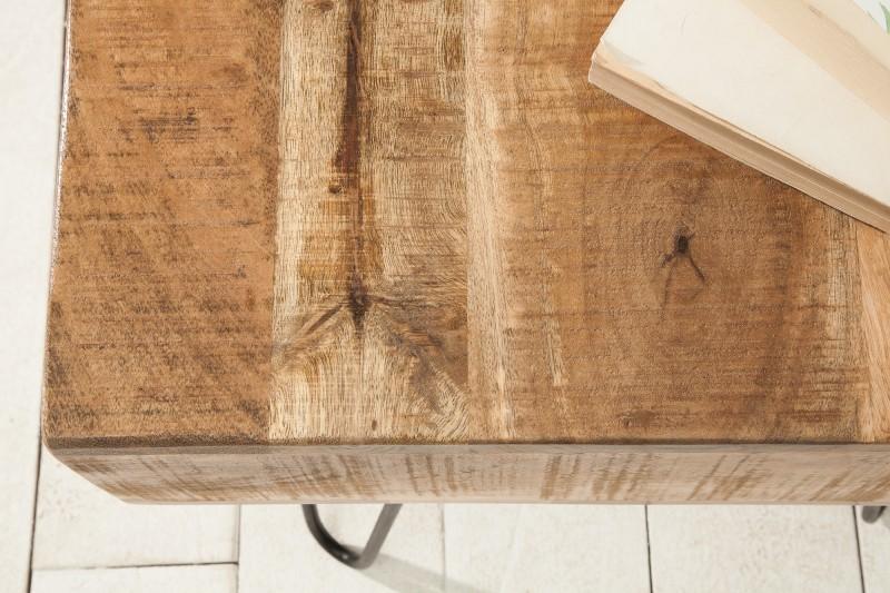 Konferenční stolek Scorpion 50cm x 50cm  - mango / 38642