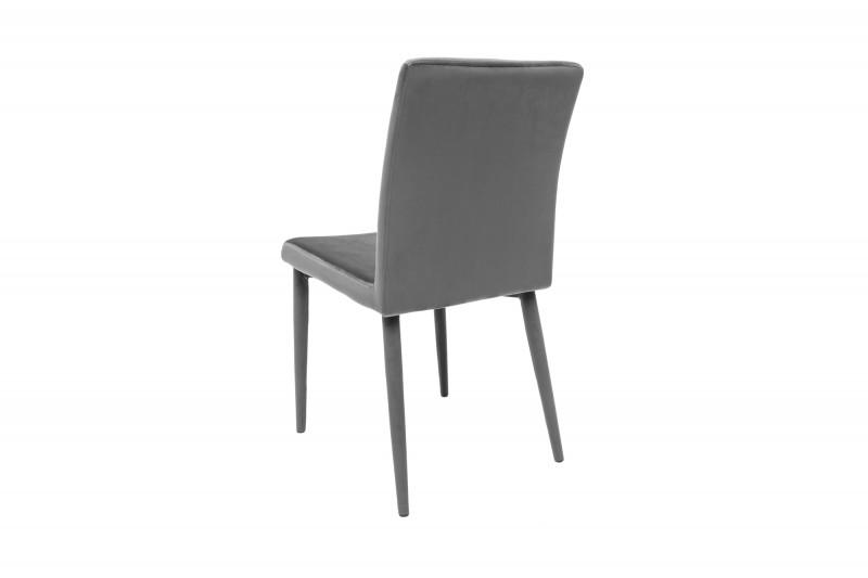 Židle Milano Velvet šedá / 38849