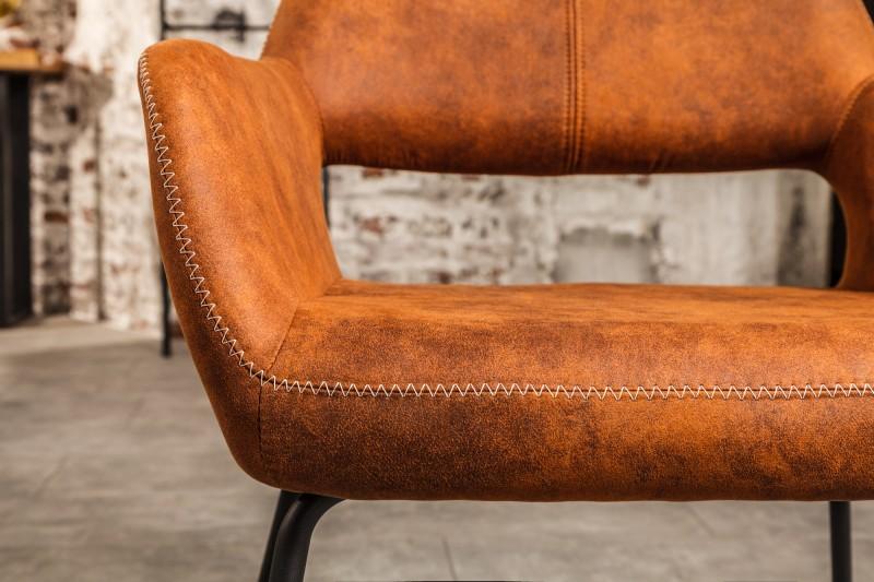 Jídelní židle Rockland - starožitná hnědá / 38387