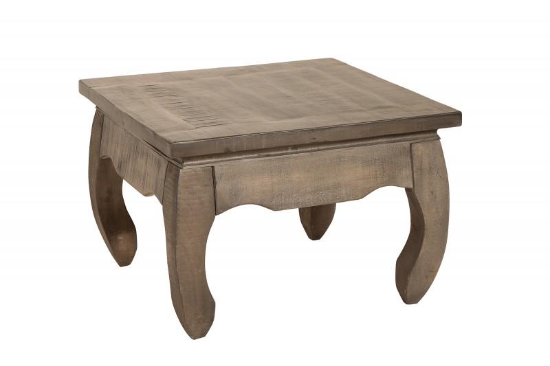 Konferenční stolek La Fleur 60cm x 60cm - mango / 38639
