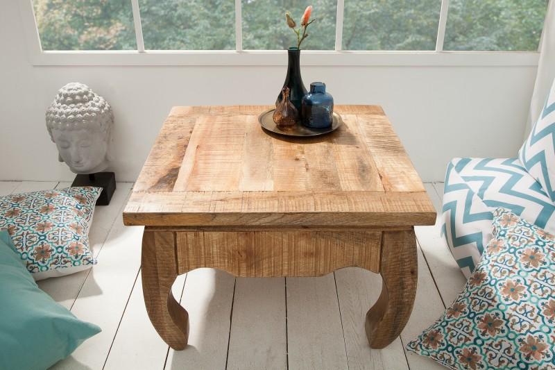 Konferenční stolek La Fleur 60cm x 60cm - mango / 38638