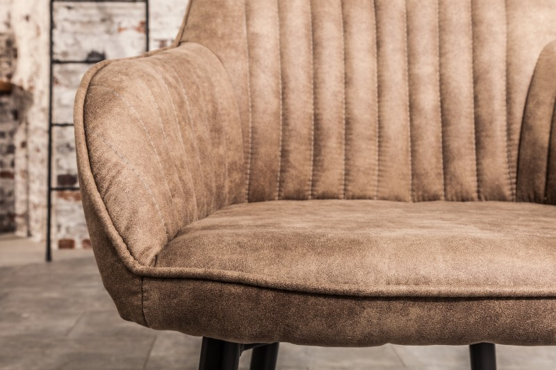 Jídelní židle Monroe - taupe šedá / 38790